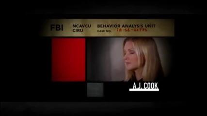 -criminal Minds season 7 opening-престъпни намерения сезон 7 начални кредити -
