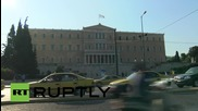 Greece: Strikes shutdown Athens ahead of crucial parliamentary vote