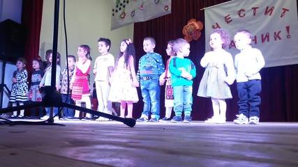 Участието на децата от Цдг Душанци в тържеството на 06.03.16г.
