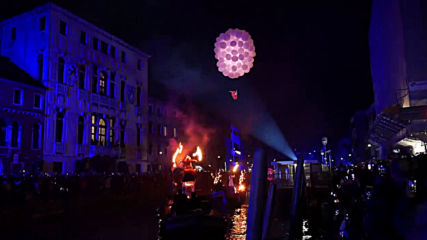 Venice 2020 carnival kicks off with spectacular water show