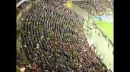 Агитката на Eintracht Frankfurt - Palermo