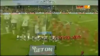 Fulham vs Southampton 1:1 Бербатов пак бележи