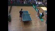 Тенис на маса Финал Голованов Йорданов