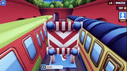 Subway surfers gameplay ;)
