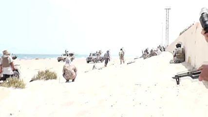 Libya: GNA troops mount beach assault on Sirte as IS waver *EXCLUSIVE*