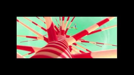 Разбивачът Ралф - дублиран откъс от филма :)