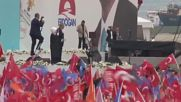 Turkey: Thousands attend Erdogan's pre-election rally in Istanbul