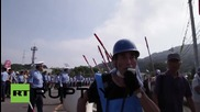 Japan: Protesters rail against Sendai 'No. 1' nuclear reactor's restart