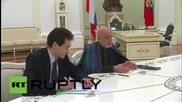 Russia: Putin and Karzai discuss the rise of IS in Afghanistan