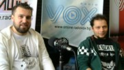 "Интервю с българската група ""Летците"" по Radio VOX с водещ Стилиян Ринков и VOX Rinkov Show"