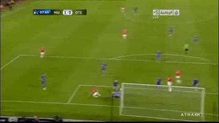 Манчестър Юнайтед 2 - 0 Оцелул Валенсия Гол *hq*