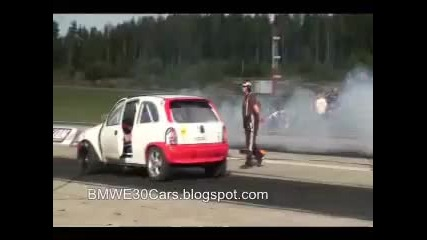 Bmw E30 Wheelie