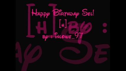 Happy Birthday Selena Gomez [h]