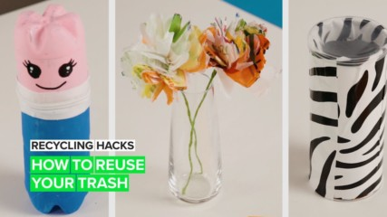 Recycling Hacks for the Planet: Items for around the house