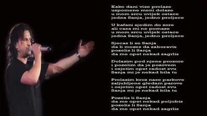 Aca Lukas - Sanja - (Audio - Live 1999)
