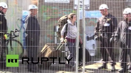 UK: Police 'violently' evict Sweets Way Estate occupiers amid resistance