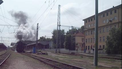 Парен локомотив 01.23 начело на Кпв 13293