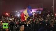Romania: Thousands cram Bucharest streets in protest, despite Ponta stepping down