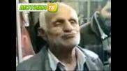 Дядо показва трик с цигара