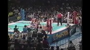 Rick Steiner & Keiji Muto vs. Pegasus Kid & Road Warrior Animal 09/20/96