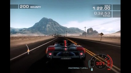 *new Need for Speed: Hot Pursuit - Pagani Zonda