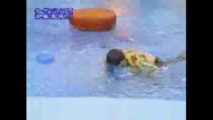 Луди Японски Игри - Държене На Въже