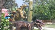 Хепи ленд Варна динозаври