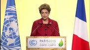 France: Morales slams capitalism and Rousseff talks examples at COP21