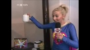 Супер Бианка и киселото мляко, Шоуто на Иван и Андрей, 12.02.2010