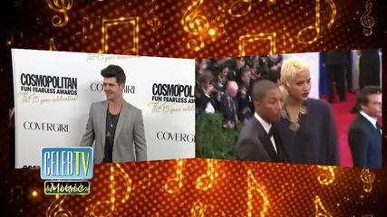 Robin Thicke and Pharrell Williams Ordered To Pay Up!