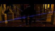 Бандата На Оушън- Vincent Cassel's Laser Dance