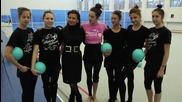 Златните момичета подкрепят Елица и 50 000-то хоро 2012