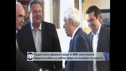 Политическите лидери в Гърция обещаха да работят в тясно сътрудничество за спасението на страната