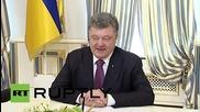Ukraine: Poroshenko meets Steinmeier for Minsk implementation talks