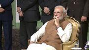 Iran: Indian PM Modi received by Rouhani in Tehran