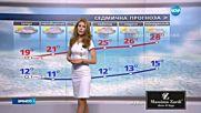 Прогноза за времето (24.05.2016 - централна емисия)
