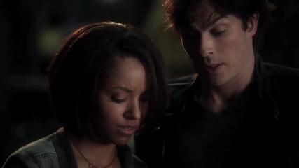 The Vampire Diaries Bonnie and Damon (дневниците на вампира смях)