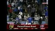 Баскетбол - NBA Бой Публика Срещу Играчи