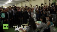 Spain: Catalan President Mas votes in regional elections amid anti-independence protest