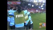 26.06.2010 Уругвай - Южна Корея 2:1 Всички голове и положения - Мондиал 2010 Юар