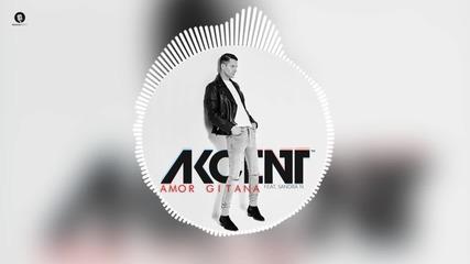 Текст и превод! Akcent feat. Sandra N - Amor Gitana (official Audio)