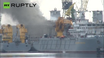 Fire Breaks Out Aboard Russian Nuclear Submarine