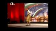 Йордан Илиев от Пловдив вдигна публиката на крака - Бг Търси Талант 23.03.2010