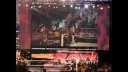 Wwe неизлъчено: Невероятно меле м/у Raw и бившите Nxt рукита след края на Raw 21.06.2010