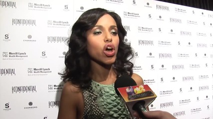 Kerry Washington Tweets About Scandal While In Labor