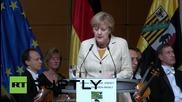 Германия: Сирийският конфликт може да бъде решен само с Русия - Меркел