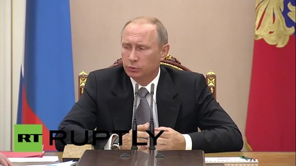 Russia: Putin discusses Import Substitution Commission with ministers