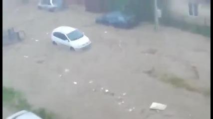 Трагедия! Проливните дъждове взеха жертви в кв. Аспарухово - Варна 20.06.2014