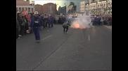 Сблъсъци между полицията и протестиращи миньори в Испания