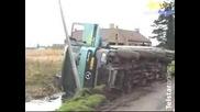 Най - Трудния Начин Да Си Измиеш Камиона!
